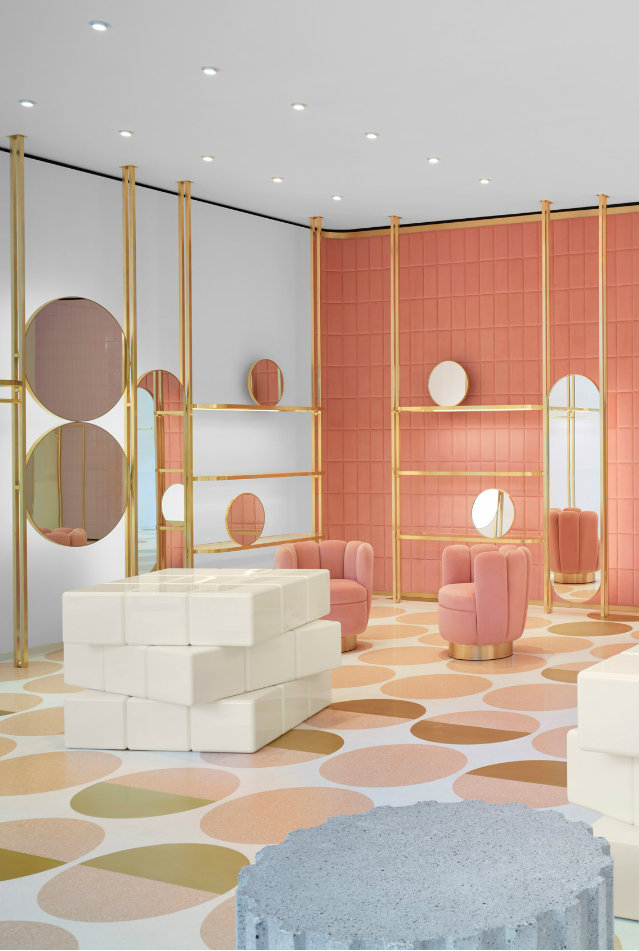 shop design Get Inspired By The Wonderful Red Valentino Shop Design In London featured