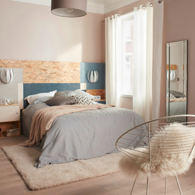 6 amazing bedroom ideas to copy from Marie Claire Maison_2 bedroom ideas 6 amazing bedroom ideas to copy from Marie Claire Maison tetedelit bois castorama1