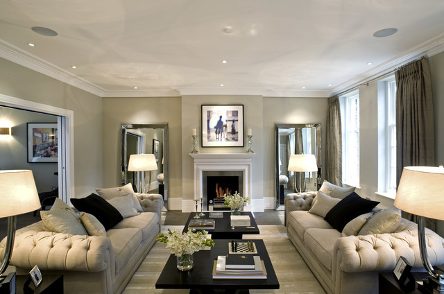 wall art decorating ideas 5 Elegant Decorating Ideas To Decorate A Home Like A Londoner traditional living room