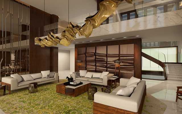 Decorating Ideas decorating ideas 7 Brilliant Decorating Ideas By Areen Design You Will Want To Copy Residential Private Residence China Ground Floor Lounge  1