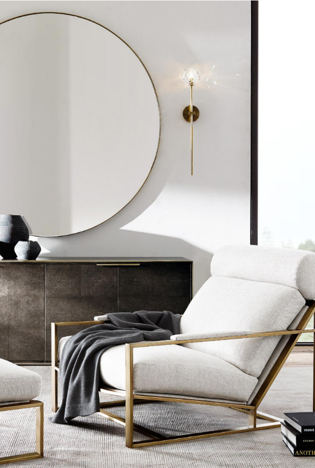 Sophisticated contract furniture pieces by restoration - Restoration hardware bedroom furniture ...