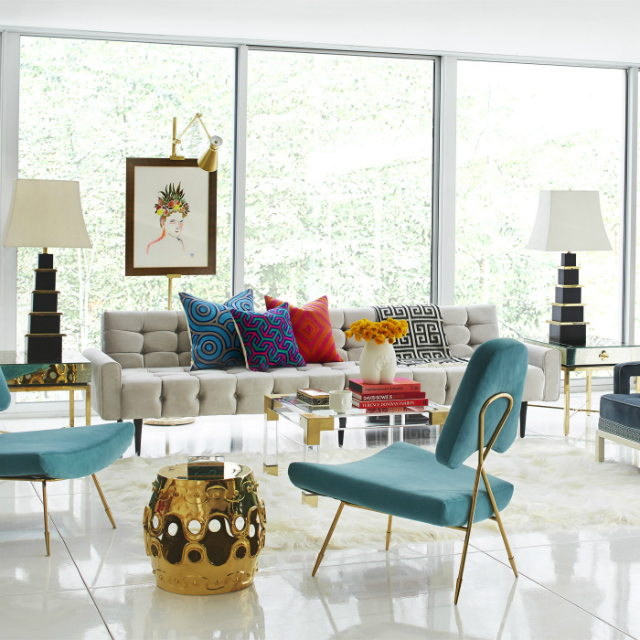Winter mood colorful living room ideas to copy from for Colorful living room sets
