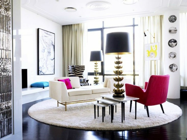 Winter Mood: Colorful Living Room Ideas To Copy From Jonathan Adler Living  Room Ideas Winter
