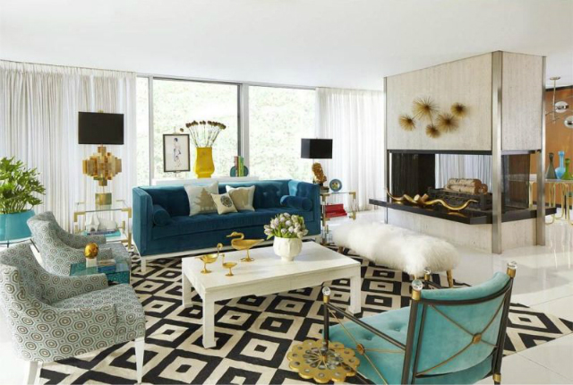 Winter Mood: Colorful Living Room Ideas To Copy From Jonathan Adler living room ideas Winter Mood: Colorful Living Room Ideas To Copy From Jonathan Adler 10 Cheerful Winter Living Rooms by Jonathan Adler9