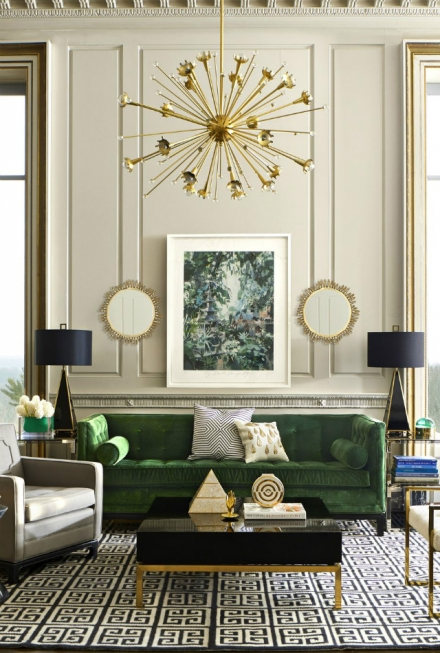Winter Mood: Colorful Living Room Ideas To Copy From Jonathan Adler