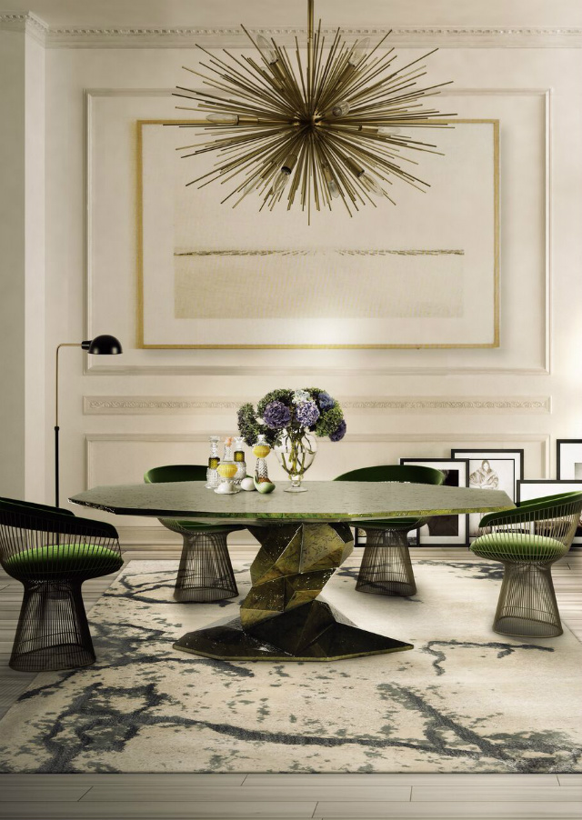 Ideas To Style A Round Dining Room Table decorating ideas 10 Stunning Decorating Ideas To Style A Round Dining Room Table 7 1