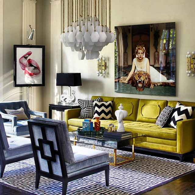 Winter Mood: Colorful Living Room Ideas To Copy From