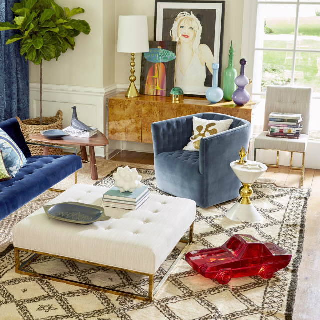 Winter Mood: Colorful Living Room Ideas To Copy From Jonathan Adler living room ideas Winter Mood: Colorful Living Room Ideas To Copy From Jonathan Adler GoldfingerLivingroom 05crop styled fall15 jonathan adler 3427a9c3 45bd 47a2 a910 c1098c73f598 1024x1024