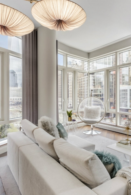 New York luxury apartments – Suh Residence designed by Lo Chen Design
