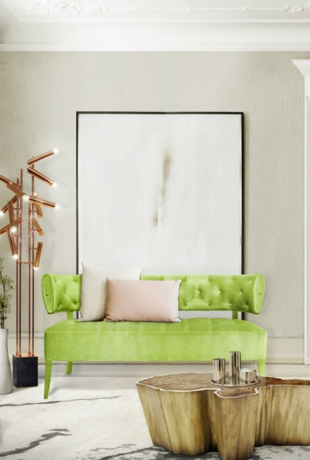 10 Trendy Modern Sofas According To Pantone' Spring Color Report