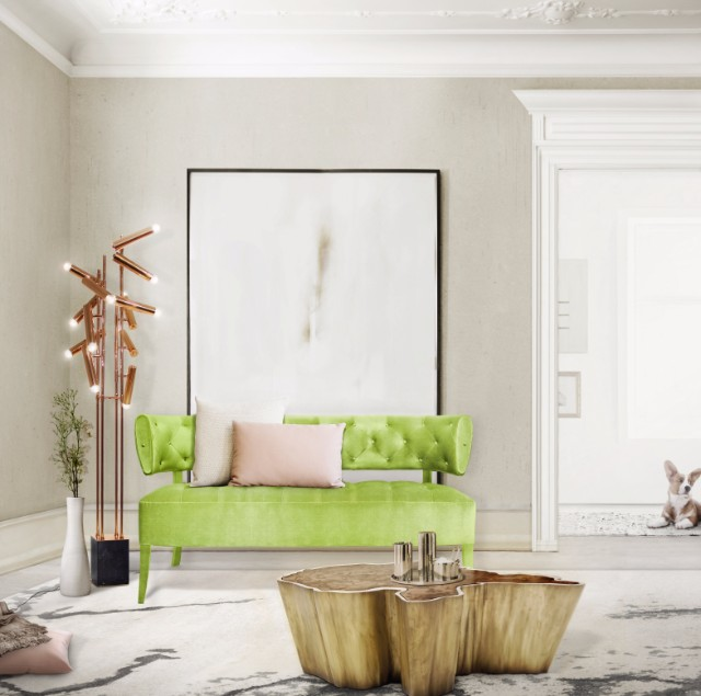 10 Trendy Modern Sofas According To Pantone's Spring Color Report