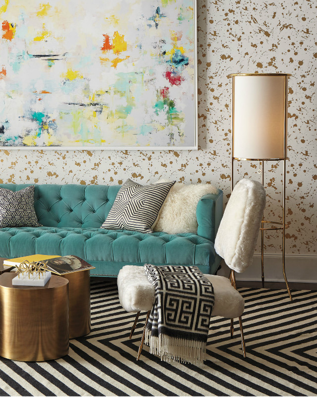 Winter Mood: Colorful Living Room Ideas To Copy From Jonathan Adler living room ideas Winter Mood: Colorful Living Room Ideas To Copy From Jonathan Adler c386cee7c6c1ec0c2a3783003fc822e4