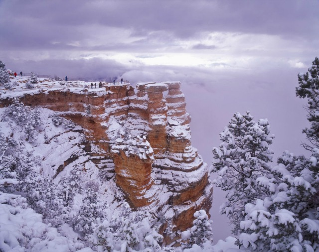 10 Dreamy Winter Destinations For Every Snow Lover winter destinations 9 Dreamy Winter Destinations For Every Snow Lover canyon