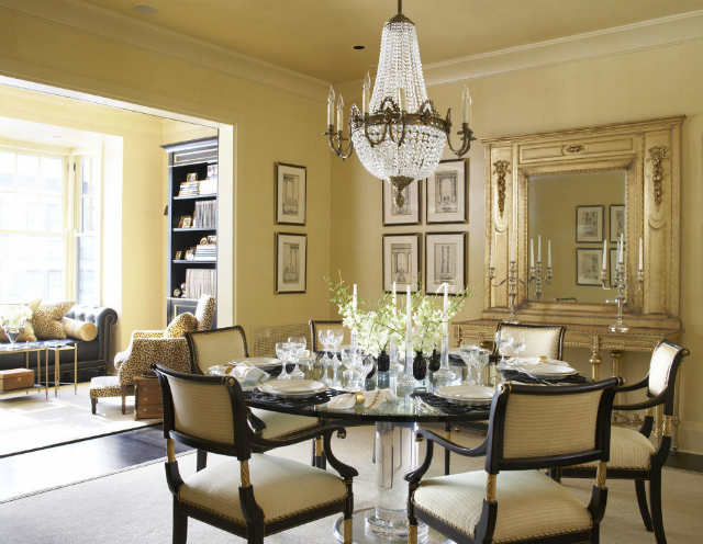 Ideas To Style A Round Dining Room Table decorating ideas 10 Stunning Decorating Ideas To Style A Round Dining Room Table eva quateman