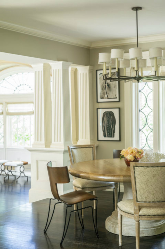 10 Stunning Decorating Ideas To Style A Round Dining Room Table decorating ideas 10 Stunning Decorating Ideas To Style A Round Dining Room Table gallery 1482337786 jennifer palumbo