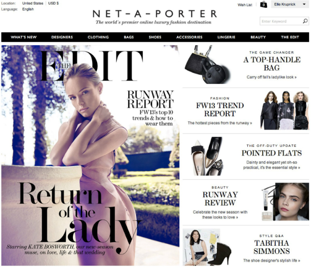 Get Inspired by Net-A-Porter, The 2016 Luxury Retailer of the Year luxury retailer Get Inspired by Net-A-Porter, The 2016 Luxury Retailer of the Year o NET A PORTER facebook