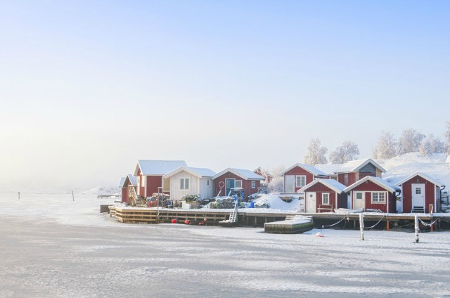 10 Dreamy Winter Destinations For Every Snow Lover winter destinations 9 Dreamy Winter Destinations For Every Snow Lover swedish coast