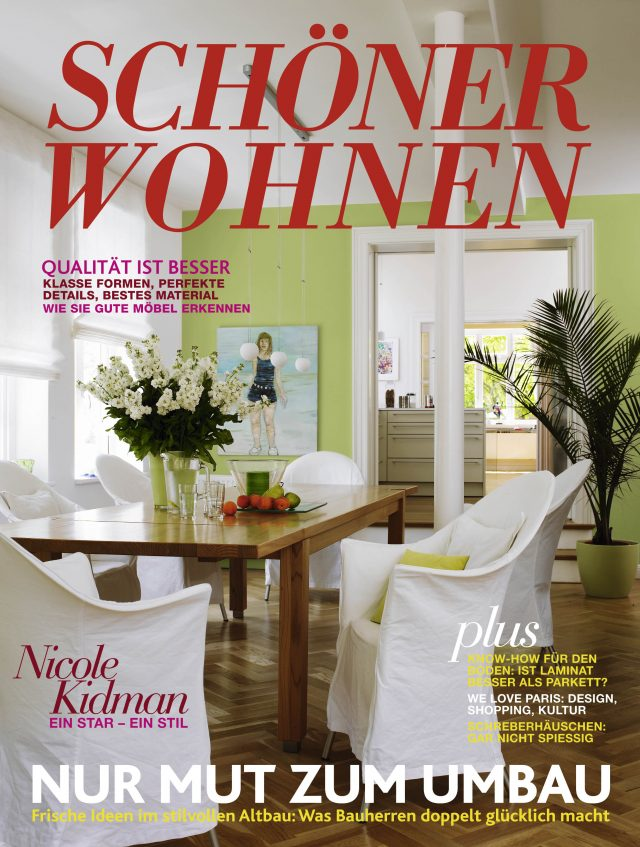 top 3 german interior design magazines for inspiring decorating ideas. Black Bedroom Furniture Sets. Home Design Ideas
