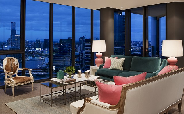 Australian homes home decor ideas 7 Stunning Home Decor Ideas By Coco Republic Portfolio Oly Sky Residences coco republic Interior Design Apartment 001