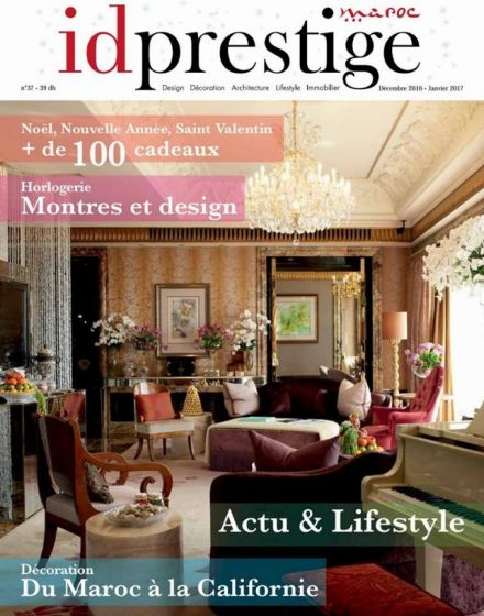 Top 6 French Interior Designers According to ID Prestige Magazine