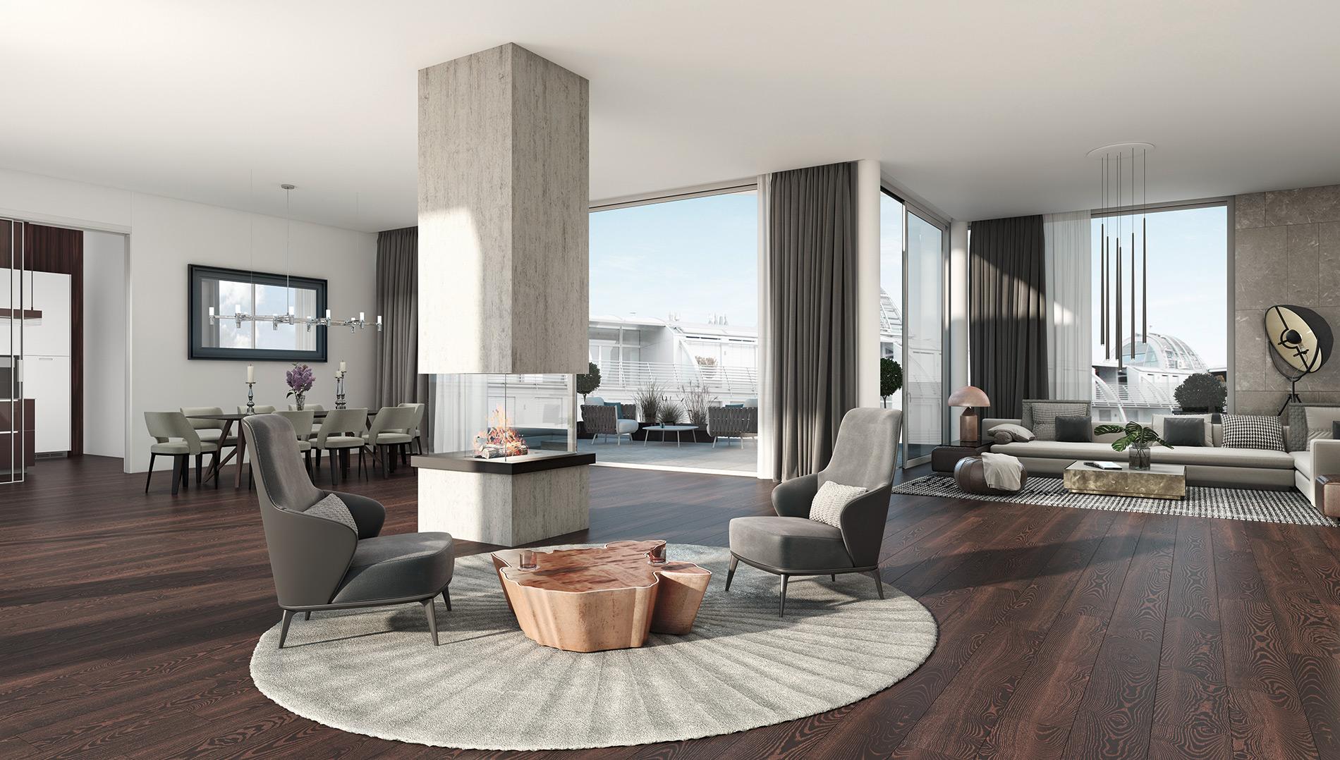 "goethegasse1_-enthouse_top22_wohnraum home decor 5 Wonderful Home Decor Ideas By ""Goethegasse 1"" To Copy goethegasse1  enthouse top22 wohnraum"