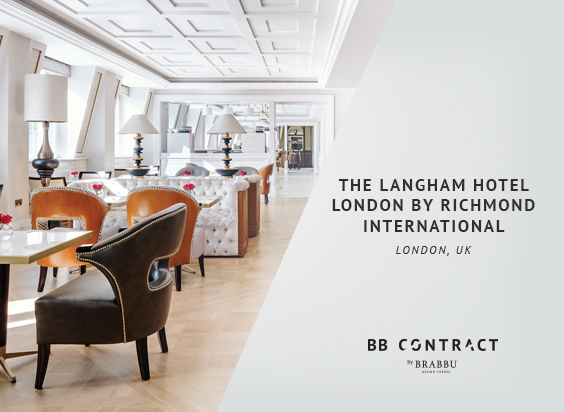 Discover Hospitality Design with BRABBU Contract  BRABBU Contract's Solution For Hospitality Projects 2 The Langham Hotel