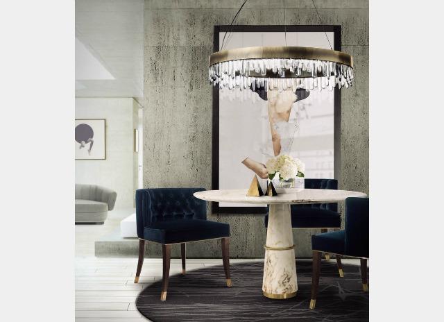 20 Stunning Dining Room interior design Trends You Must Know dining room design 20 Stunning Dining Room Design Trends You Must Know BRABBU Dining room decoration ideas 13