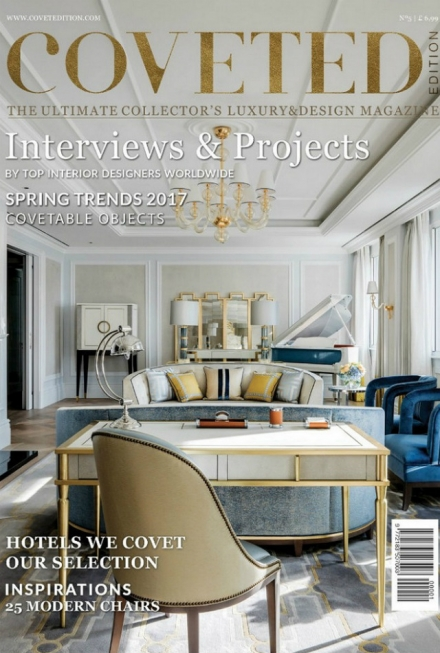 Coveted Magazine Latest Edition Is Full Of Interior Design Inspiration