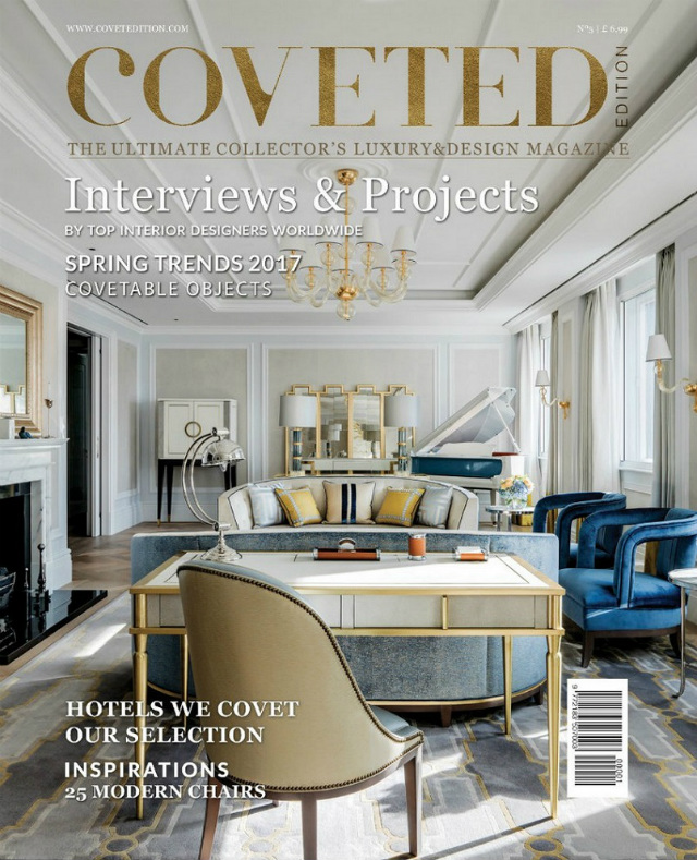Coveted Magazine Latest Edition Is Full Of Interior Design Inspiration  interior design inspiration Coveted Magazine Latest Edition Is Full Of Interior Design Inspiration New Edition of Coveted the Luxury and Design Magazine 41