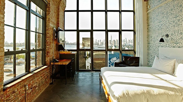 Where To Stay In New York During Architectural Digest Design Show 2017  architectural digest design show 2017 Where To Stay In New York During Architectural Digest Design Show 2017 Top 10 Industrial chic hotels Wythe Hotel Brooklyn New York