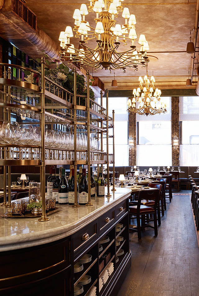Where to eat in new york during architectural digest for Architecture interior design new york