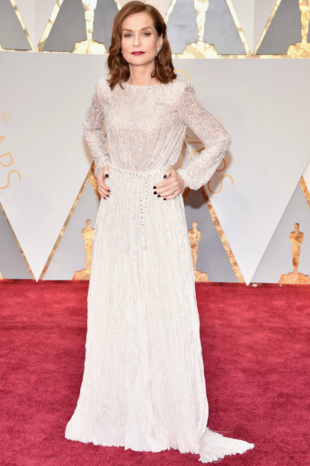 Top 10 Best Dressed Oscars 2017 By BRABBU's Fashion Police  best dressed oscars 2017 Top 10 Best Dressed Oscars 2017 By BRABBU's Fashion Police hbz oscars isabelle huppert armani priv