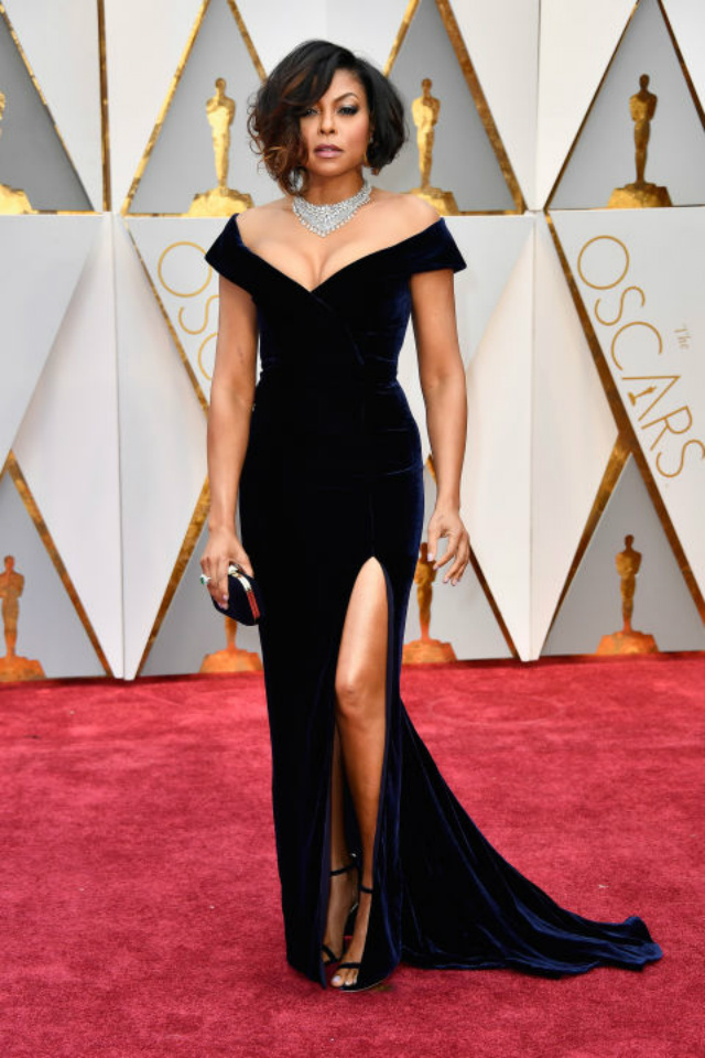 Top 10 Best Dressed Oscars 2017 By BRABBU's Fashion Police  best dressed oscars 2017 Top 10 Best Dressed Oscars 2017 By BRABBU's Fashion Police hbz the list best dressed oscars taraji p henson 1