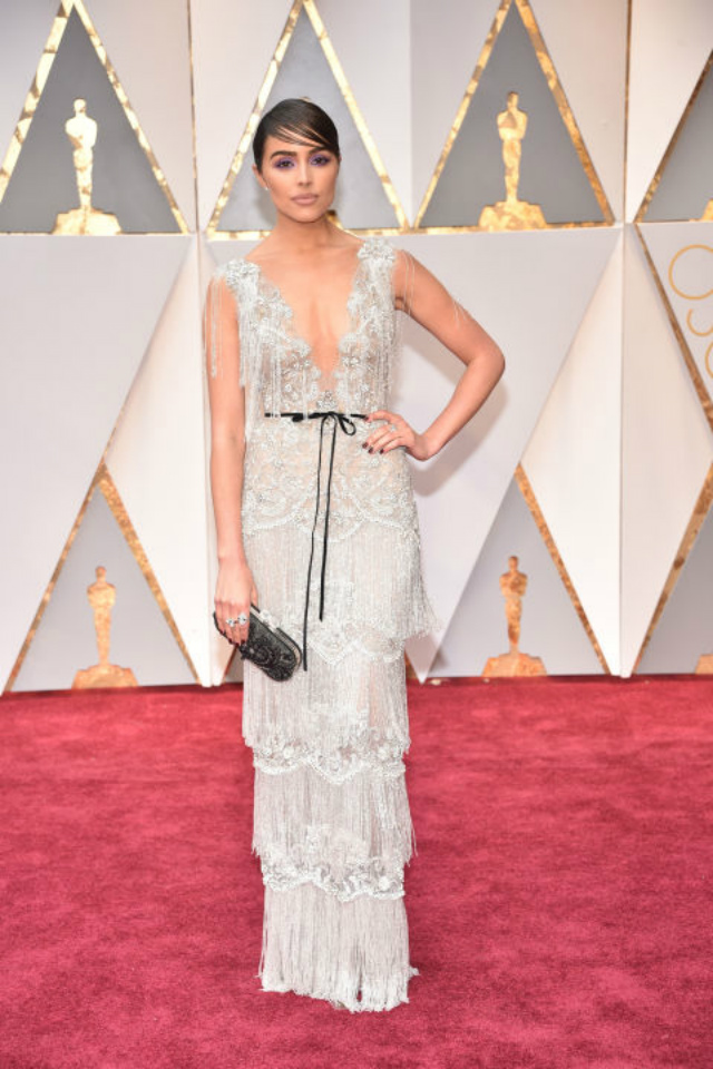 Top 10 Best Dressed Oscars 2017 By BRABBU's Fashion Police  best dressed oscars 2017 Top 10 Best Dressed Oscars 2017 By BRABBU's Fashion Police olivia culpo in Marchesa and Neil Lane Diamonds