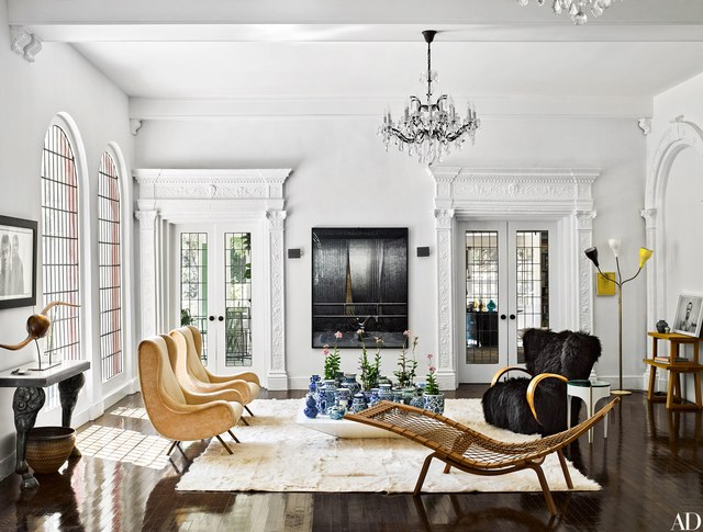 8 Sensational Living Room Ideas To Copy From Architectural Digest  living room ideas 8 Sensational Living Room Ideas To Copy From Architectural Digest 1016 brigette romanek los angeles house 10