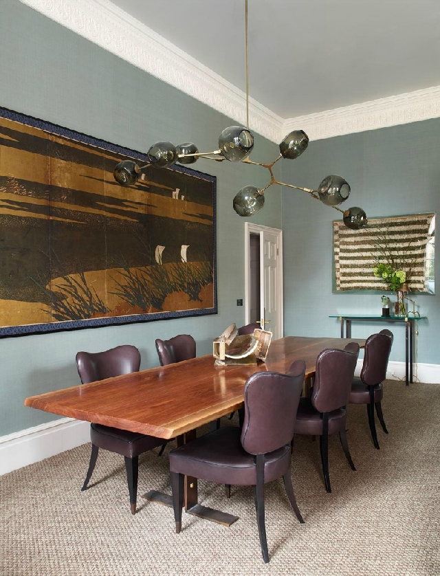 5 Dining Rooms From The Best UK Designers Great Dining Rooms 5 Great Dining Rooms From The Best UK Designers douglas mackie