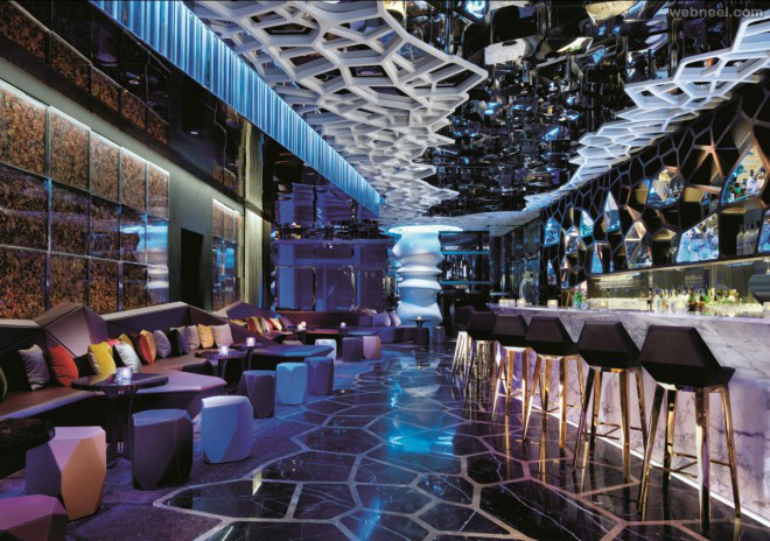 7 Stunning Bar Stools From Hospitality Interiors In The World bar stools 7 Stunning Bar Stools From Top Hospitality Interiors 2 restuarant design bar ozone hongkong