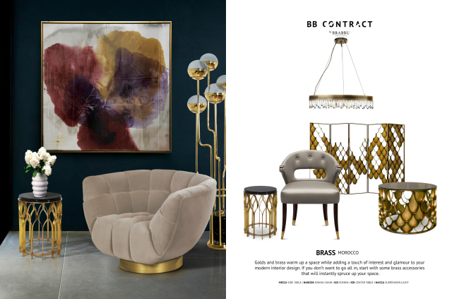 BB Contract's Guide To Picking The Right Material For A Hospitality Project BRASS