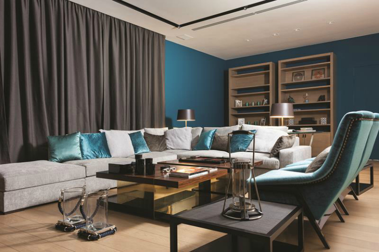 10 Times Modern Chairs Transformed An Entire Room modern chairs 10 Times Modern Chairs Transformed An Entire Room CovetED Projects we covet Zhukovka living room design
