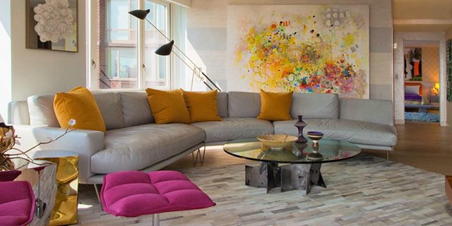 5 Striking Decorating Ideas To Copy From Andrew Suvalsky Designs  5 Striking Decorating Ideas To Copy From Andrew Suvalsky Designs HudsonRiverViews 06