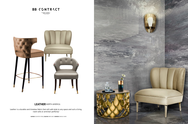 BB Contract's Guide To Picking The Right Material For A Hospitality Project LEATHER