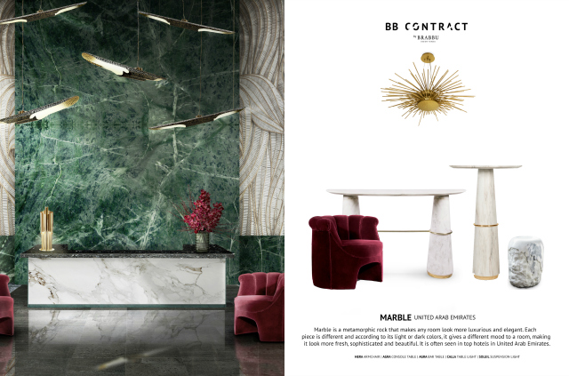 BB Contract's Guide To Picking The Right Material For A Hospitality Project Marble