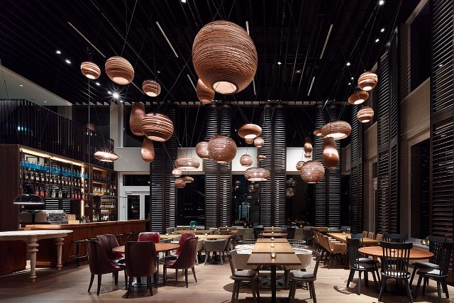 7 Memorable Restaurant Interior Design Projects In Germany  7 Memorable Restaurant Interior Design Projects In Germany Motel One M  nchen       Campus Restaurant   ippolito