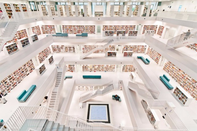 10 Iconic Germany Monuments That You Must Visit  10 Iconic Germany Monuments That You Must Visit Stadtbibliothek Stuttgart