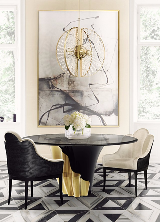 7 Chic Velvet Chairs You Will Love This Summer  7 Chic Velvet Chairs You Will Love This Summer anastasia dining chair koket projects