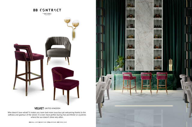BB Contract's Guide To Picking The Right Material For A Hospitality Project velvet