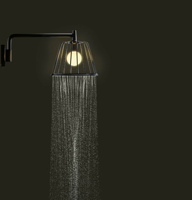 What you can not miss at Casa Decor Madrid 2017  What you can not miss at Casa Decor Madrid 2017 AXOR LampShower by Nendo Wall Chrome Night 1068x1111