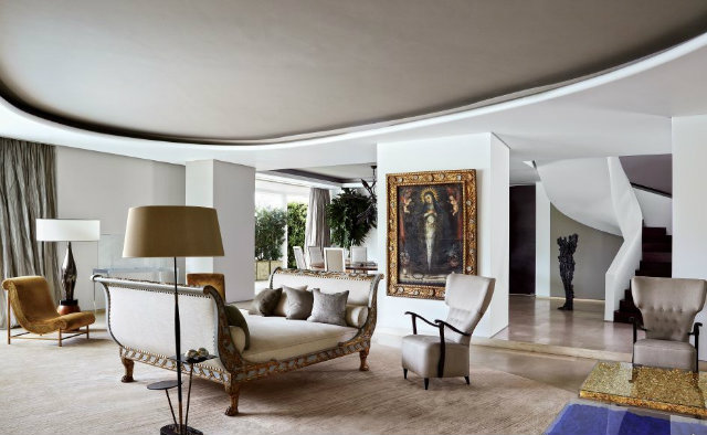 How To Decorate A Chic Living Room Set Like Jean-Louis Deniot ...