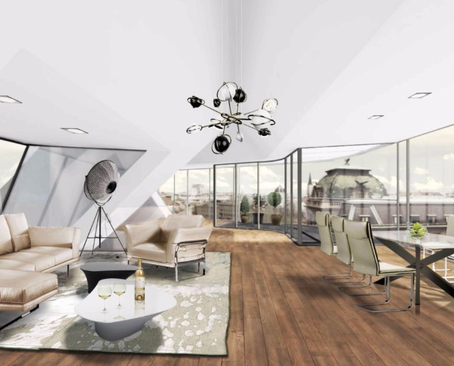 7 Home Decor Ideas By VIENNA Interiors That Will Inspire A Makeover   7 Home Decor Ideas By VIENNA Interiors That Will Inspire A Makeover Penthouse Wohnzimmer 21 e1387385367390 941x760