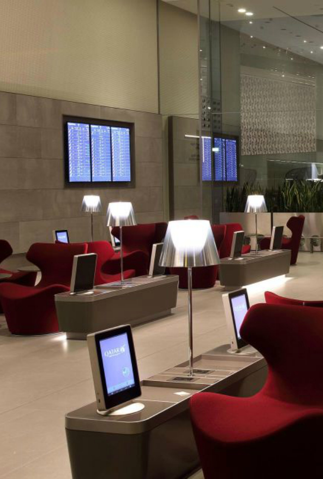 7 Airport Lounges That Will Inspire You To Travel More  7 Airport Lounges That Will Inspire You To Travel More Qatar Airways Al Mourjan Business Class Lounge Doha 1
